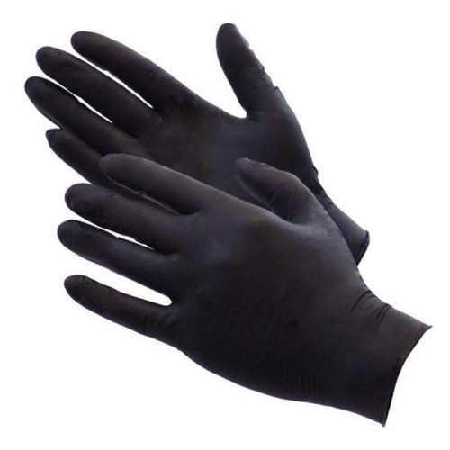 TGC Black Nitrile Gloves (X Large) 20 Pack
