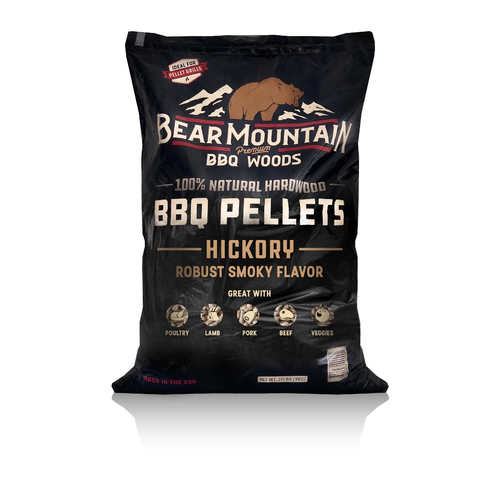Bear Mountain Pellets - Hickory 9KG