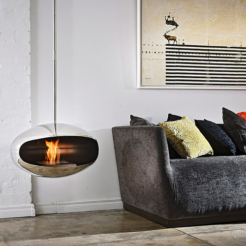 Cocoon Aeris Ethanol Fireplace Stainless Steel- Standard (CFASS)