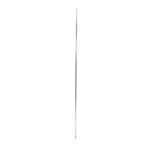 Stainless steel spit skewer - 8mm thick - solid 650mm long - fits 8mm BBQ motor